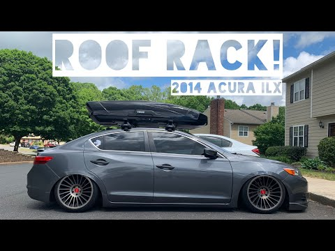Got a THULE Cargo Box for my Acura ILX
