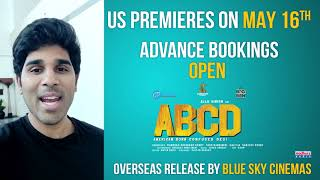 Allu Sirish Byte For US Audience | ABCD US Premieres On May 16th | #AmericanBornConfusedDesi