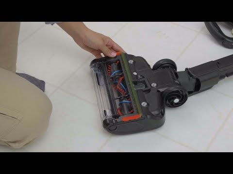How to clean the brushrolls on the Shark ION™ P50 cordless upright vacuum
