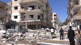 قصف متواصل على حي الوعر وباريس تصعد ضد الأسد
