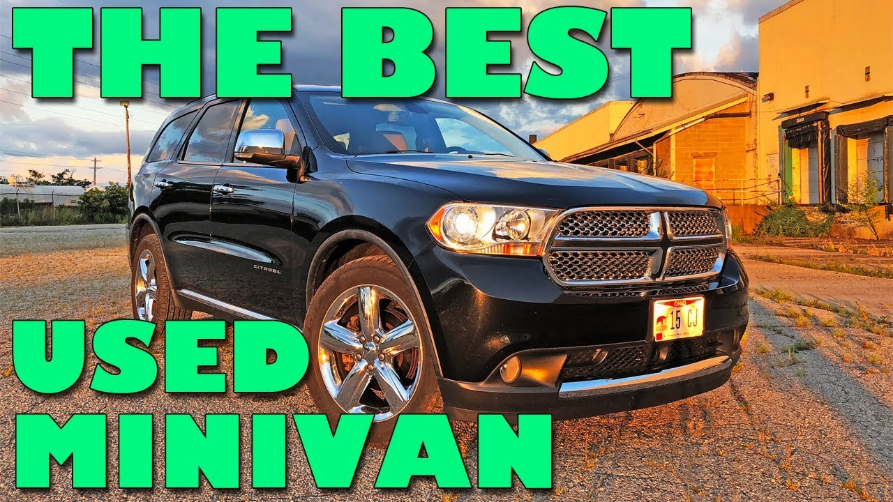 Best Used Minivan >> The Dodge Durango Is The Best Used Minivan To Buy