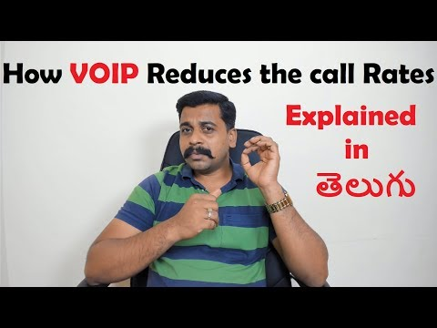 How VOIP Reduces Call rates | Explained in Telugu