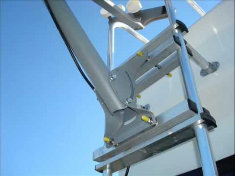 Satellite Dish Rv Mount Slide Show Wmv Youtube
