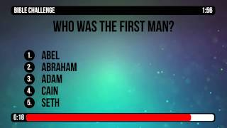 Genesis 1 to 2 Bible Trivia Countdown Video