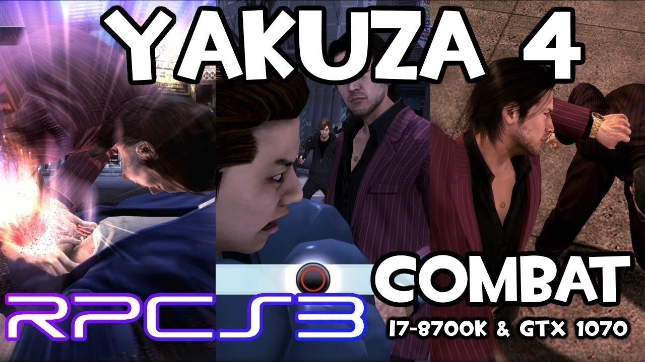 Steam Community :: Video :: [RPCS3] Yakuza 4 - Akiyama Combat