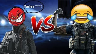 1v1 Against Angry Trash Talker!!! This is Just Hilarious!!! (Rainbow Six Siege)