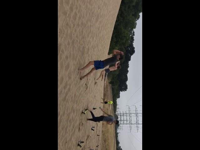 Sand Dune Broad Jumps