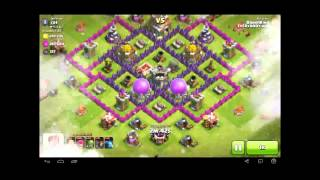 Let's play Clash of Clans! Part 5! New base layout hold strong against TH8, Let's GO! | Cat