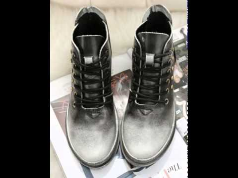 Vintage brush off autumn winter new products and leisure boots.avi