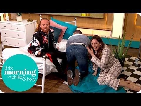 Keith Lemon and Paddy McGuinness Cause Chaos With Kelly Brook | This Morning