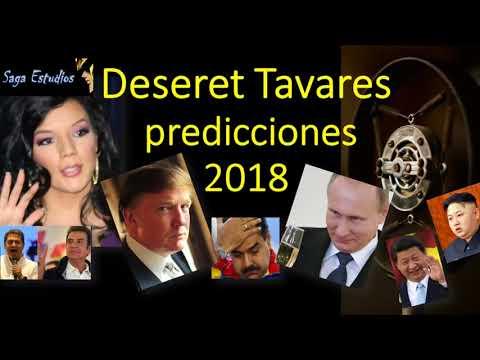 Deseret Tavares predicciones EEUU, Colombia, Honduras y mas