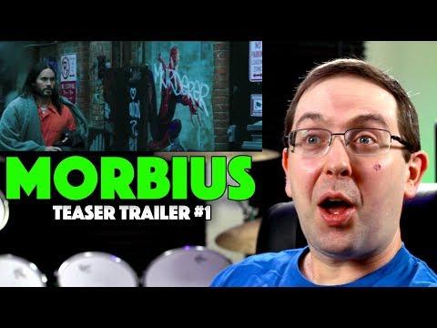 Play REACTION! Morbius Teaser Trailer #1 - Jared Leto Marvel Spider-Man Movie 2020