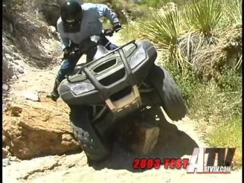 ATV Television   2003 Honda Rincon Test   YouTube