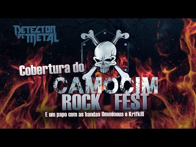 CAMOCIM ROCK FEST, OMMINOUS E KRIFKILL | DETECTOR DE METAL EM LOCO 15
