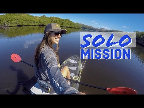 SOLO FLY FISHING ADVENTURE - on a stand up paddle board!