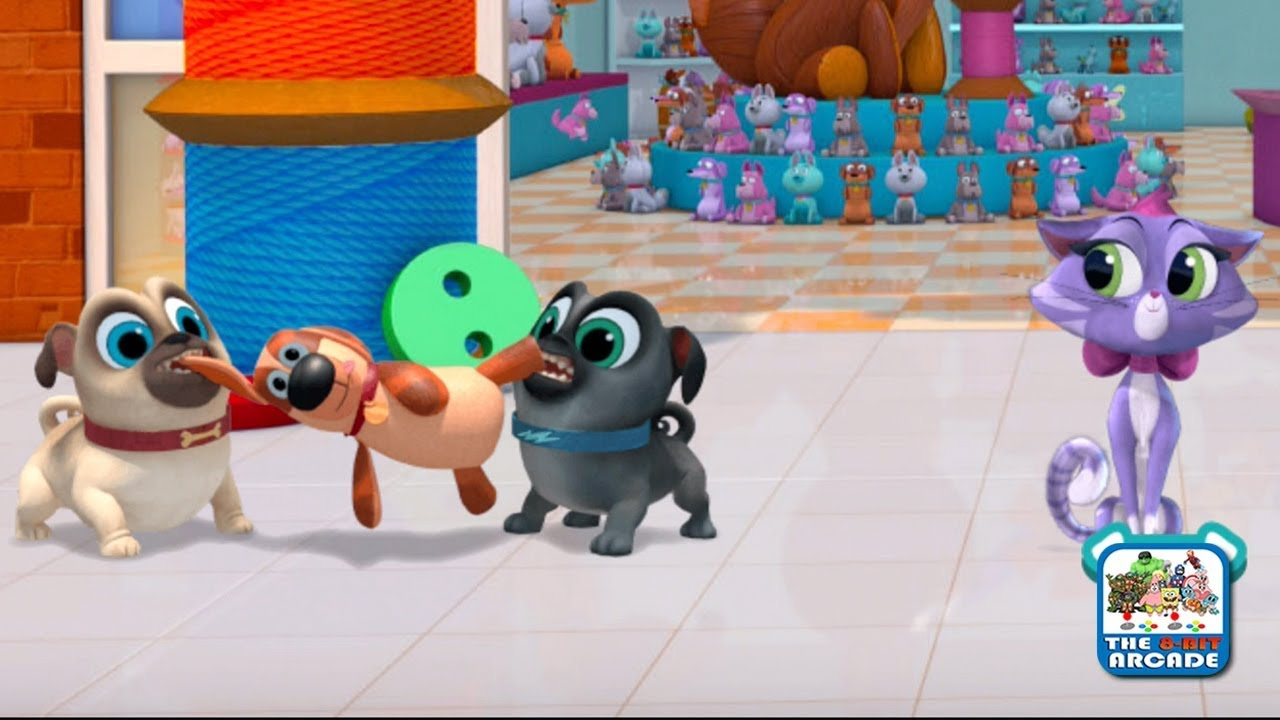 Puppy Dog Pals Pups On A Mission Go On Missions With Bingo Rolly Disney Junior Games Youtube