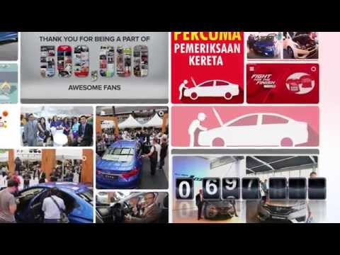 Branding Video: Honda Malaysia - Facebook Page 1 Million Fans Thank You video