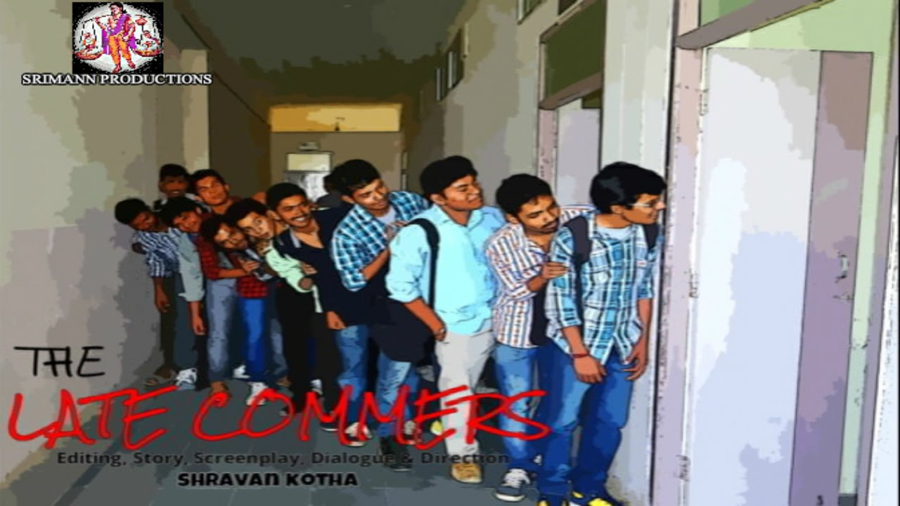 the late comers a comedy short film by shravan kotha