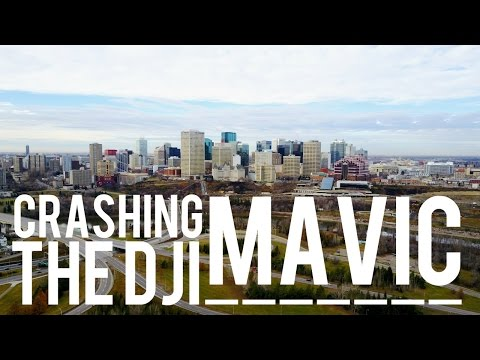 Edmonton Conservatory // We Crashed The MAVIC!
