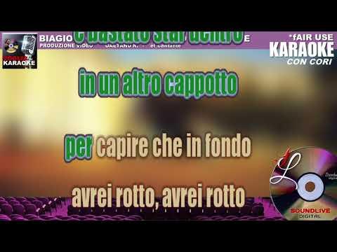 Biagio Antonacci - Ti Penso Raramente - Karaoke Con Cori (SL)  Fair Use