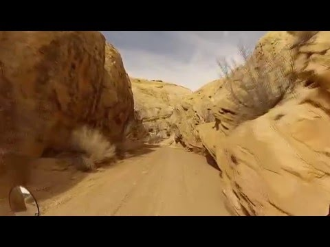 Exploring San Rafael Swell, Temple Mountain on the TW200 + gear talk!