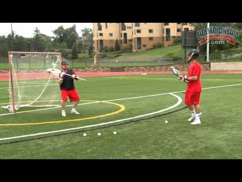 Fundamental Skills and Drills for the Lacrosse Goalie