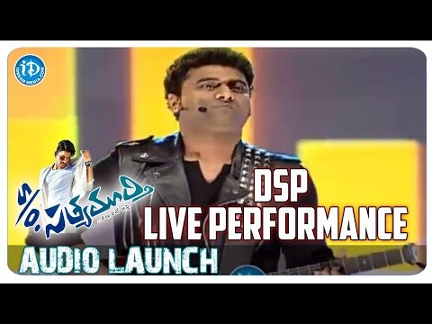 One & Two & Three Song Performance by DSP | S/o Satyamurthy Movie Audio Launch | Allu Arjun