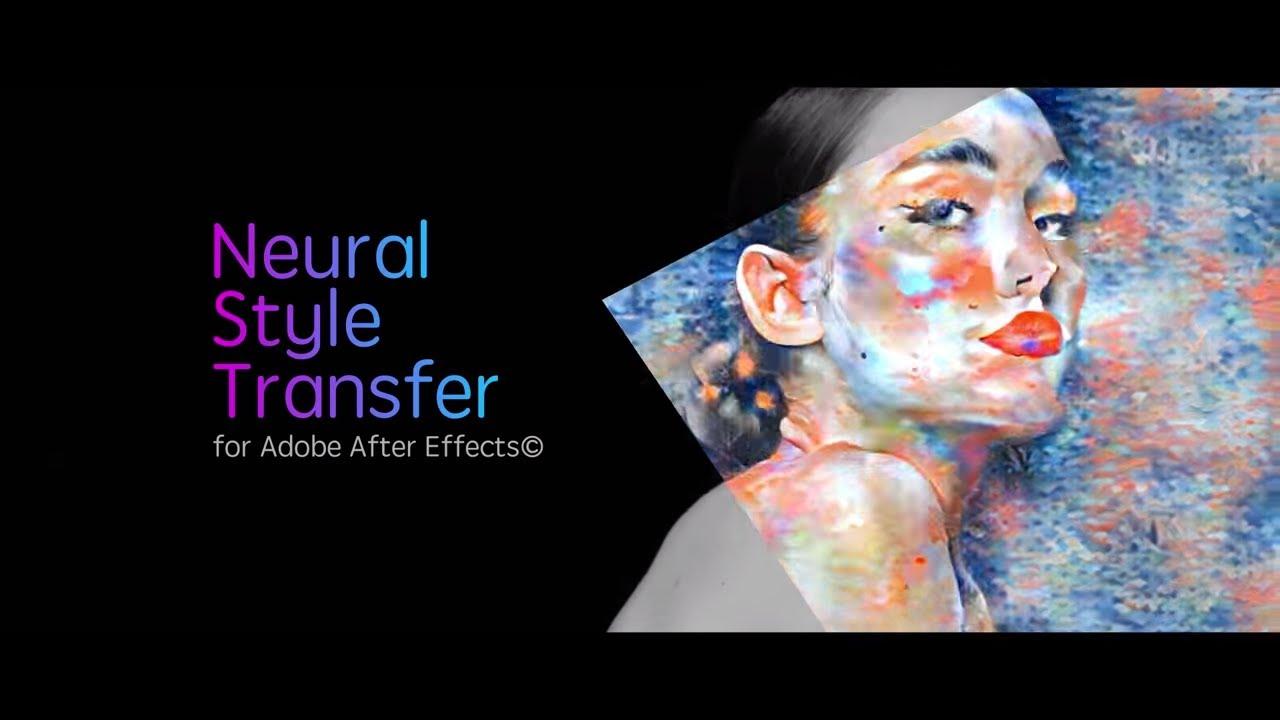 StylaRender - Neural Style Transfer - aescripts + aeplugins