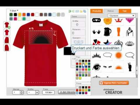 JazzyShirt - T-Shirt selbst gestalten from YouTube · Duration:  1 minutes 17 seconds