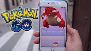 ¡CAPTURO GROUDON! NUEVO POKÉMON LEGENDARIO de 3GEN en Pokémon GO!! [Keibron]