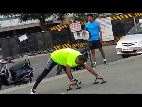 Anil Ambani working out at Nariman Point...***Subscribe for more***