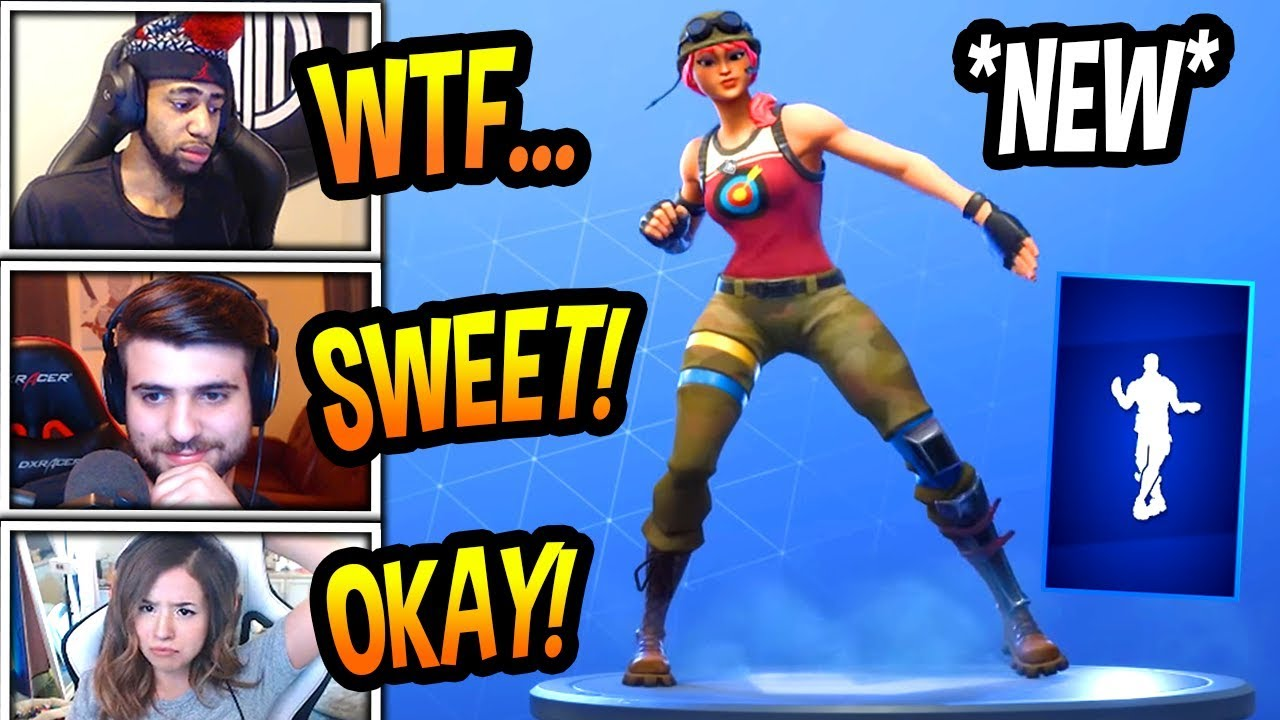 streamers-react-to-new-criss-cross-emote-dance-rare-fortnite-funny-savage-moments