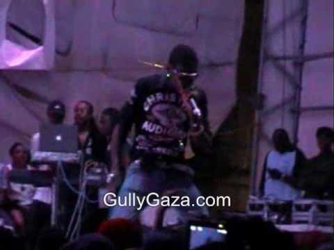 Vybz Kartel - Live at Champions in Action (Antigua) December 19th 2009 Part 3.