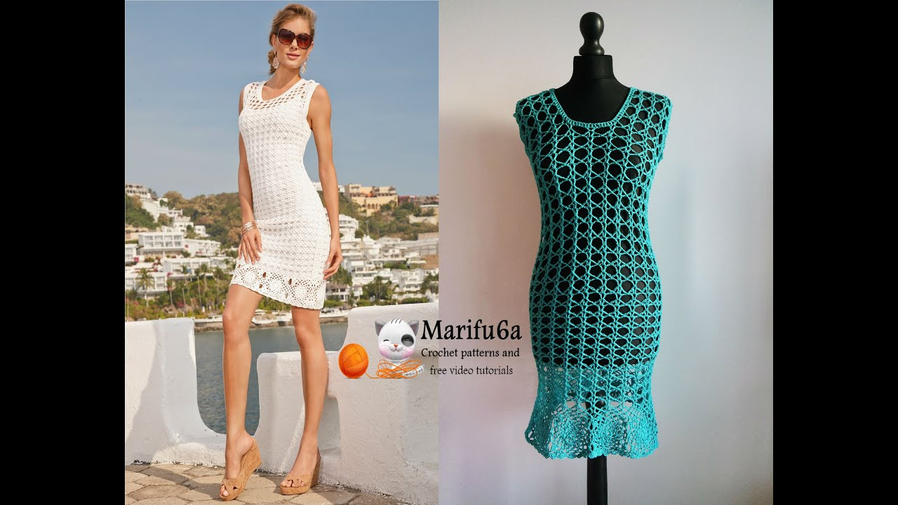 How to crochet summer dress tunic free tutorial pattern by how to crochet summer dress tunic free tutorial pattern by marifu6a bankloansurffo Gallery