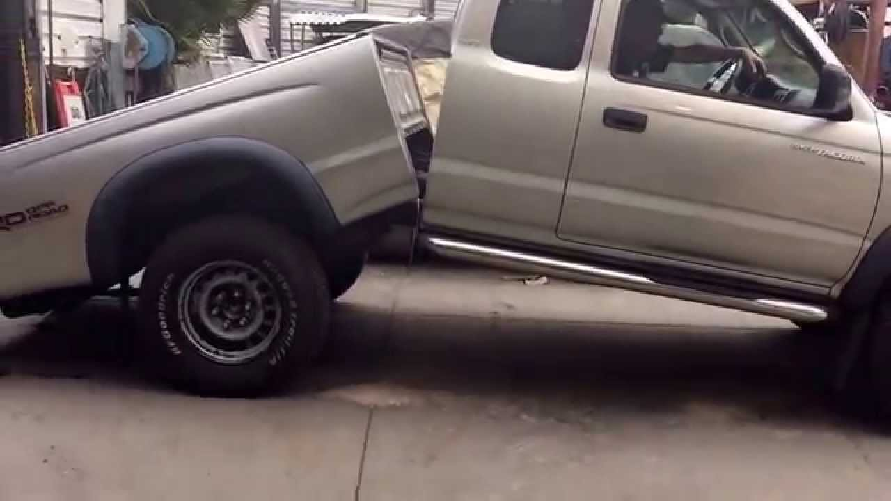 Toyota tacoma 2004 with rusty frame - YouTube