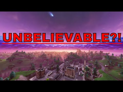 FOOTAGE OF TILTED TOWERS 4/18/2018 (UNBELIEVABLE?!) - Fortnite