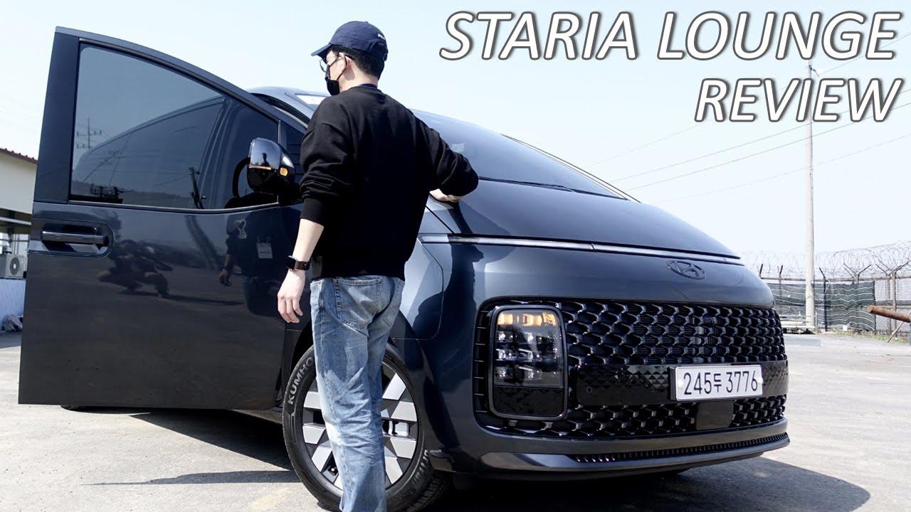 학원차를 우주선으로 만들어버린, 현대 스타리아 라운지 시승기, 7인승 2열 실내 릴렉션 시트, Hyundai Staria Lounge 7seat