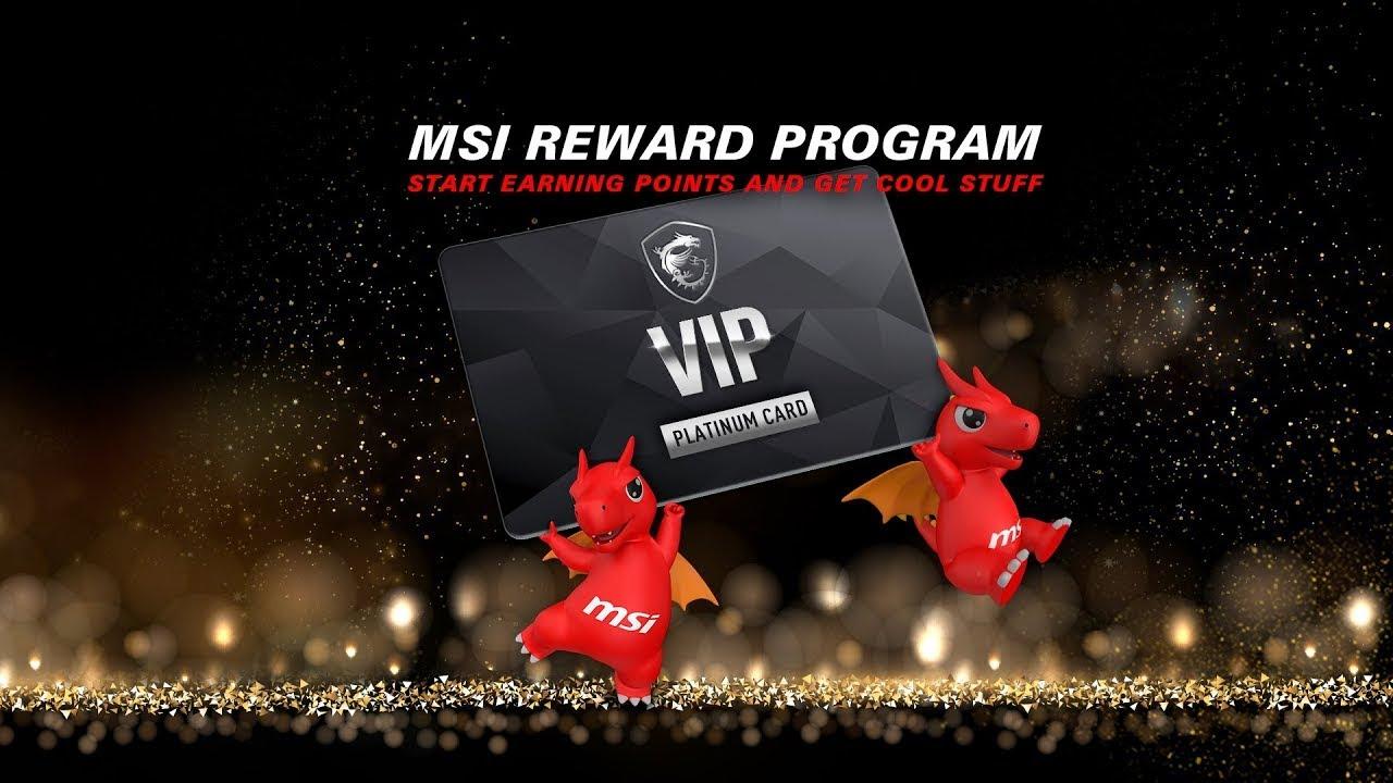 Découvrez le programme de récompenses MSI
