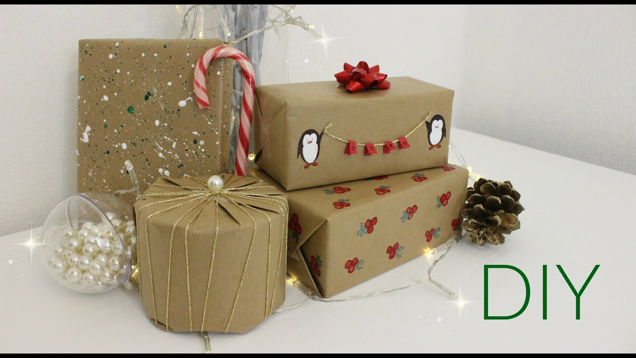 Boring Wrapping Paper Diy Christmas Wrapping Paper Ideas Jtru