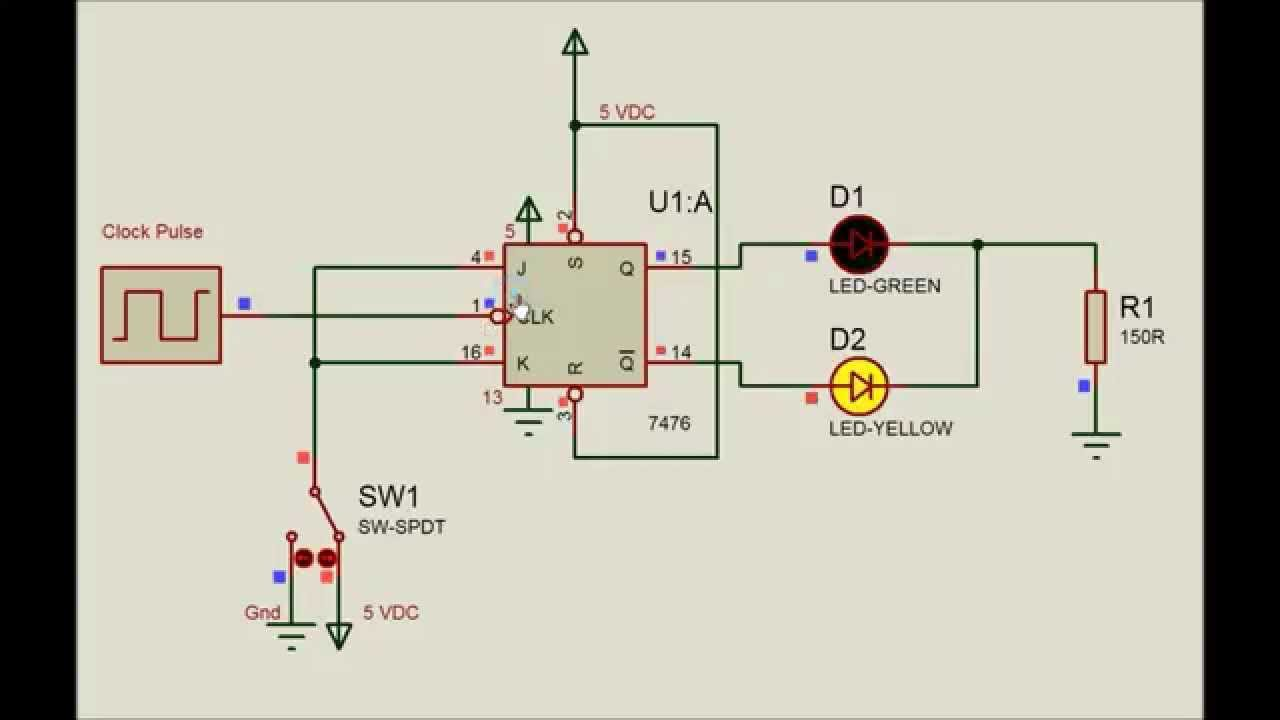 555 Led Flasher Circuit Electronix The Alternating With A Ic