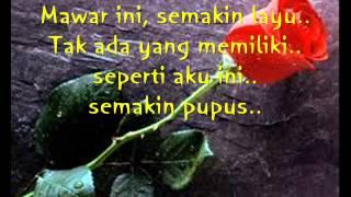 munajat cinta lyric ahmad dhani