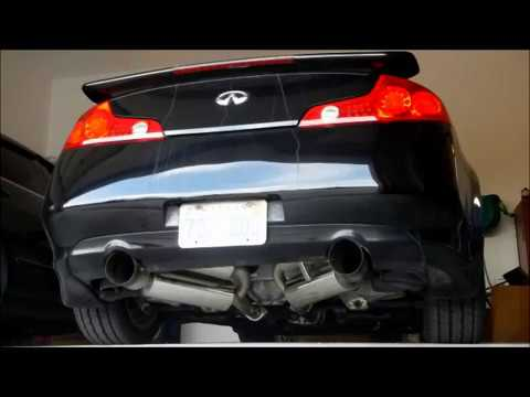 best exhaust for your g35 coupe or