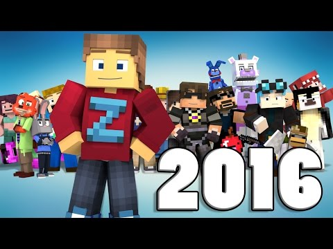 Best of ZAMination Productions | 2016 | (Minecraft Animation)