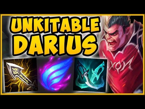 NO ONE IS SAFE FROM THIS DARIUS MAX MOVE SPEED DARIUS TOP SEASON 9 GAMEPLAY - League of Legends