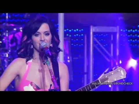 Katy Perry - Thinking Of You | Walmart Soundcheck (10/10/2010)