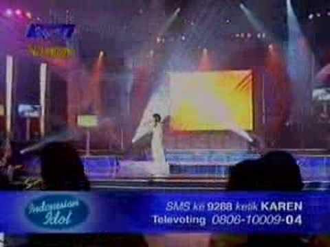 Karen - Cinta Jangan Kau Pergi (Indonesian Idol 1)