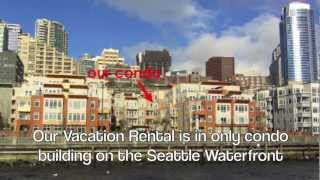Seattle Waterfront Luxury Vacation Condo With Amazing Bay Views Steps From Pike Place Market