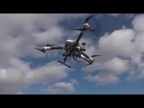 RCing Around- Sky Hero Spy 750 Y6. AMAZING state-of-the-art 'copter/drone! Up-close and flight.