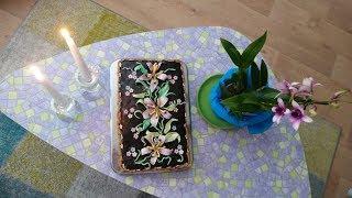 Цветы из сахарной мастики для торта