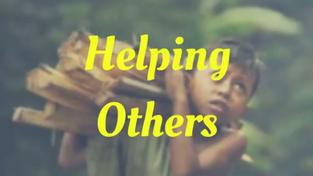 helping others short story youtube